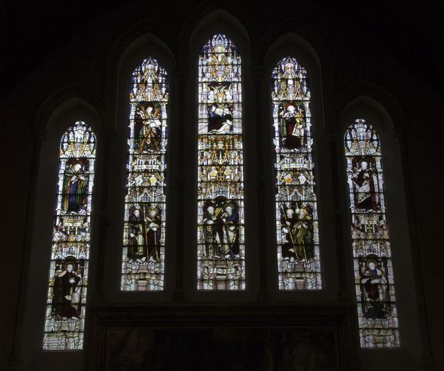 Christ with the Twelve Apostles