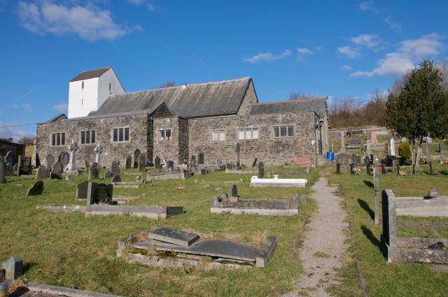 Church of St Illtyd, Llantwit Fardre, Rhondda Cynon Taff _DSC4099.jpg © University of Wales Centre for Advanced Welsh and Celtic Studies, photo Martin Crampin