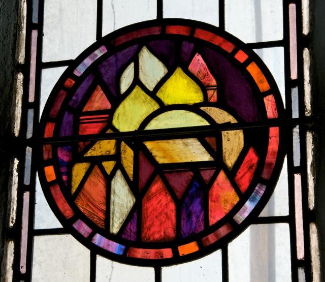 The Heavenly Jerusalem    detail from    Christian Symbols