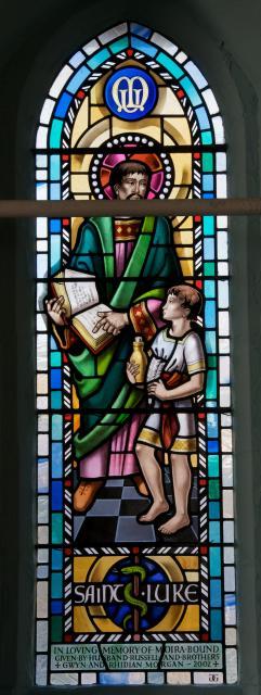 St Luke Instructing a Child