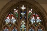 Tracery Lights: The Ascension with the Four Evangelists