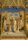 The Adoration of the Shepherds: The Nativity with the Annunciation and Mourning over the Dead Christ