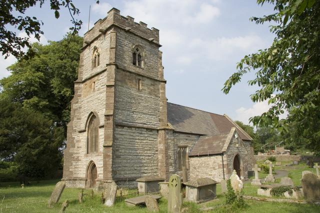 Church of St Mary, Llanwern, Newport _MG_2177.jpg Photo © Martin Crampin, Imaging the Bible in Wales