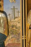 The Empty Crosses: The Nativity with the Annunciation and Mourning over the Dead Christ