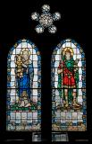 Virgin and Child with St Illtud