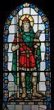 St Illtyd: Virgin and Child with St Illtud