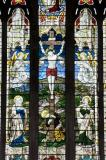Crucifixion with Virgin Mary, St John and St Mary Magdalene: The Crucifixion with Virgin Mary, St John and St Mary Magdalene, and Welsh Saints