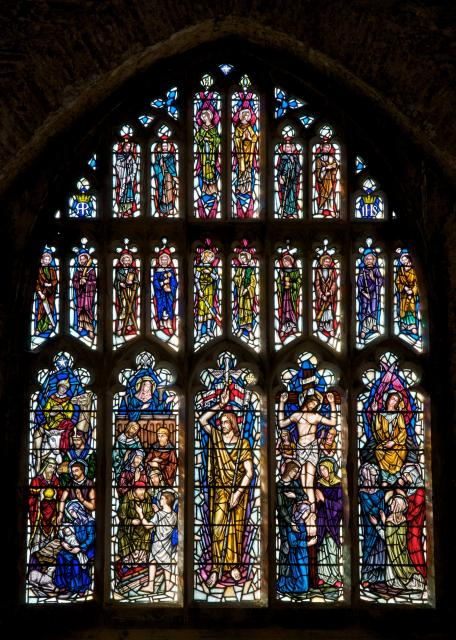 Scenes from the Life of Christ with Apostles and Archangels