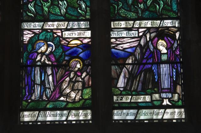 The Three Marys at the Empty Tomb    from    Receiving the Crown of Life