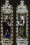 St Luke the Evangelist and St John the Evangelist: The Four Evangelists
