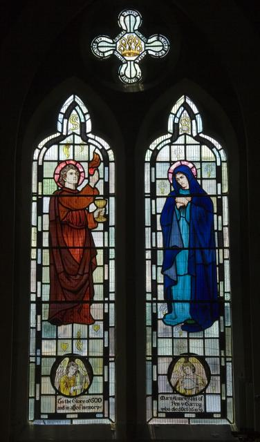 St John the Evangelist and the Virgin Mary