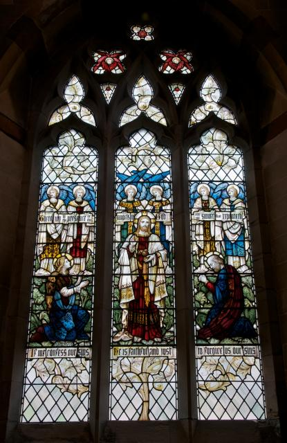 Christ with St Mary Magdalene and St Peter