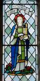 St Cecilia: King David and St Cecilia