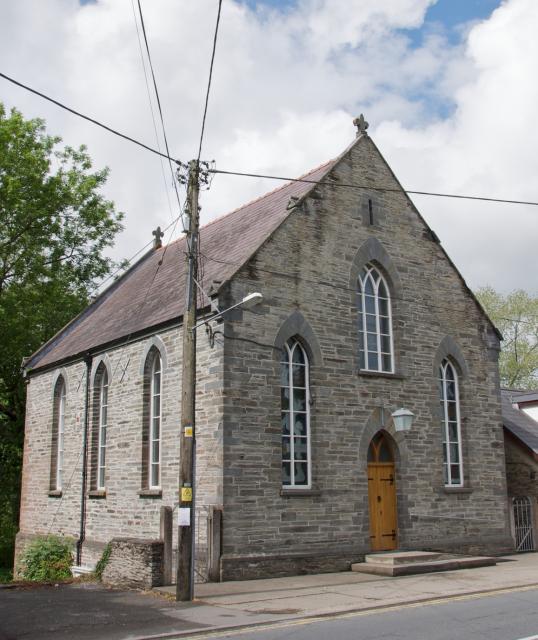 Cenarth Chapel, Cenarth, Ceredigion Cenarth_DSC6926.jpg Photo © Martin Crampin