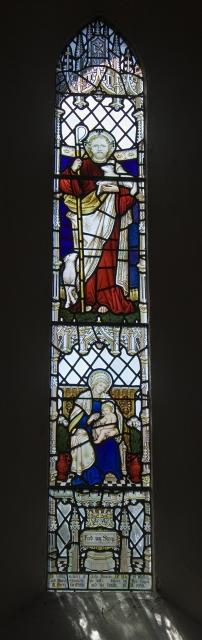 The Good Shepherd with Virgin and Child
