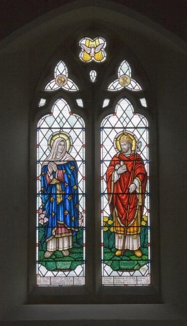 Virgin Mary and St Rhystud