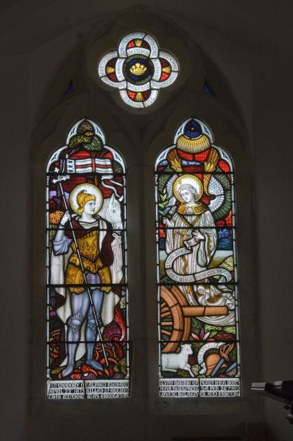 St George and an Angel