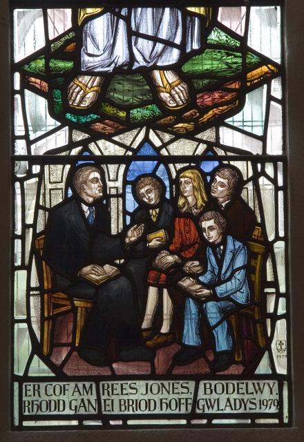 Sunday School    detail from    Christ the Teacher