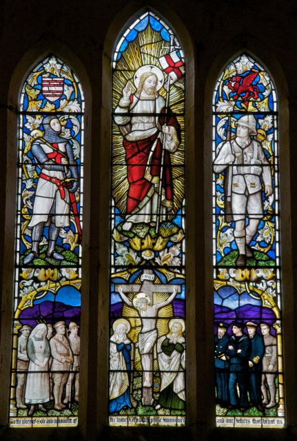The Risen Christ with Soldiers