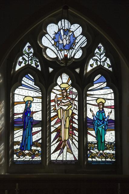 Risen Christ with the Virgin Mary and St John