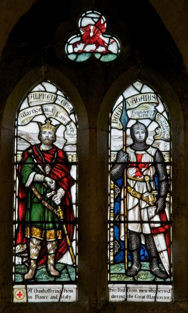 Alfred the Great and Hugh Paganis
