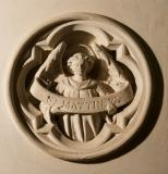 Winged Man, Symbol of St Matthew: Scenes from the Bible and the Symbols of the Four Evangelists