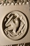 Eagle, Symbol of St John: Scenes from the Bible and the Symbols of the Four Evangelists