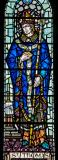 St Thomas à Beckett: Christ in Majesty with St Thomas Becket and St Nicholas