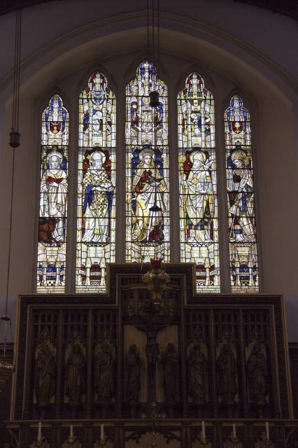 St Catherine and Saints