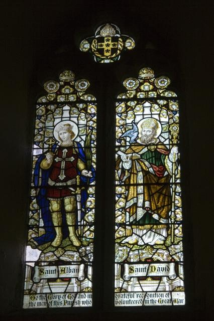 St Alban and St David