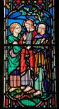 Christ with Disciples on the Road to Emmaus: Scenes from the Resurrection of Christ