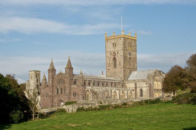 St Davids Cathedral, St Davids, Pembrokeshire _MG_8337.jpg Photo © Martin Crampin
