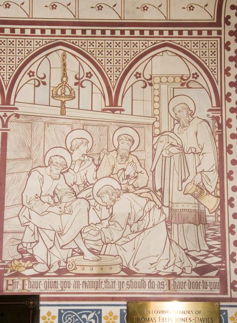 Christ Washing Peter's Feet    from    Scenes from the Bible