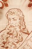 God Giving Moses the Ten Commandments
