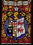 Family Heraldry: St Michael Overcoming Satan