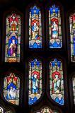 Tracery Lights: St Michael Overcoming Satan