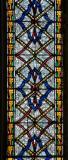 Patterned Glass: St Michael Overcoming Satan