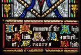 Part of the Inscription: St Michael Overcoming Satan