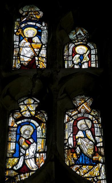 Apostles    detail from    Tree of Jesse and Twelve Apostles