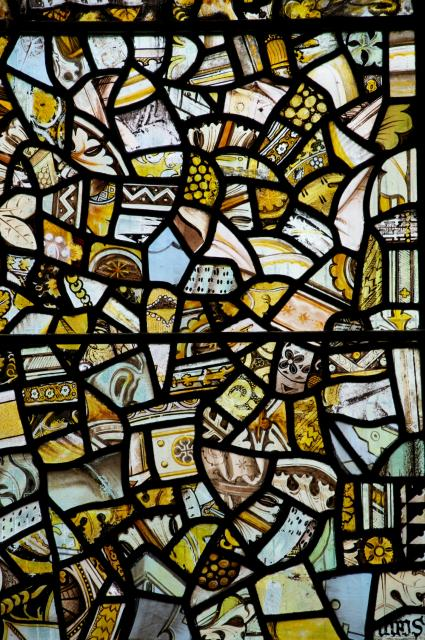 Fragments    detail from    Tree of Jesse and Twelve Apostles