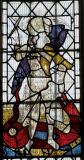 St Michael: The Crucifixion with the Virgin Mary, St John, St Michael and St Peter
