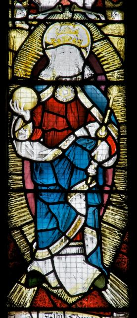 God the Father    detail from    Te Deum and Tree of Jesse