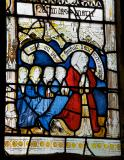 Donor with his Sons: Scenes from the Life of St Anne and the Virgin Mary