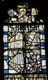 Crowned Figures: Medieval Fragments including Scenes from the Lives of St John the Baptist and St Anthony