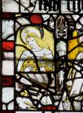 Angel Playing a Lute: Medieval Fragments including Scenes from the Lives of St John the Baptist and St Anthony