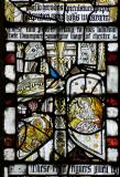Symbols of St Mark and St Matthew: Medieval Fragments including Scenes from the Lives of St John the Baptist and St Anthony