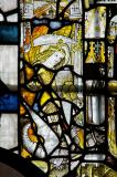 St Michael Fighting the Dragon: Medieval Fragments including Scenes from the Lives of St John the Baptist and St Anthony