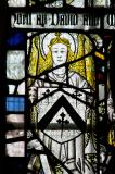 Angel with Heraldry: Medieval Fragments including Scenes from the Lives of St John the Baptist and St Anthony