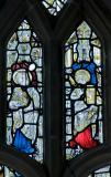 St Luke and St John: East Window