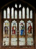 St Catherine, St James the Great, St Laurence and a Bishop